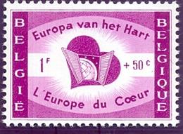 Nr. 1090-V2 ** Belgique Doorstreept - Errors (Catalogue COB)