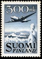 FINLAND 1950 Definitive Air 300mk MI 384**MNH - Nuovi