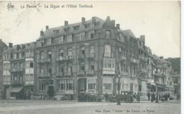 """De Panne - La Panne - La Digue Et L'Hôtel Teirlinck - Star - Impr. Papet. """"Studio"""" - De Cuman - 1922 - De Panne"""