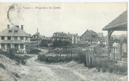 """De Panne - La Panne - Villas Dans Les Dunes - Star - Impr. Papet """"Studio"""" De Cuman - 1922 - De Panne"""