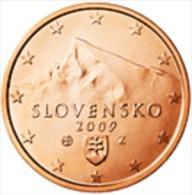 Slovakije 2009     2 Cent    UNC Uit De Rol  UNC Du Rouleaux  !! - Slovaquie