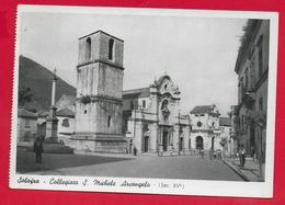 CARTOLINA NV ITALIA - SOLOFRA (AV) - Collegiata S. Michele Arcangelo - 10 X 15 - 1963 - Avellino
