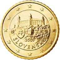 Slovakije 2009     50 Cent    UNC Uit De Rol  UNC Du Rouleaux  !! - Slovaquie