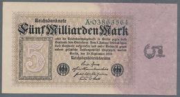 P115 Ro112a DEU-132a. 5 Milliard Mark 10.09.1923 AUNC - [ 3] 1918-1933 : República De Weimar
