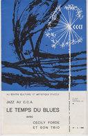 Programme Uccle  1966  JAZZ - Programmes