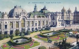 AN39 Monte Carlo, Facade Nord Du Casino - Casino
