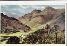 AN39 The Langdale Pikes - Cumberland/ Westmorland