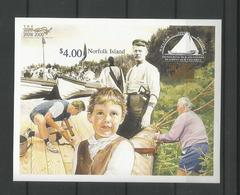 Norfolk 2000 London Stampshow S/S Imperf. Y.T. BF 39 ** - Ile Norfolk