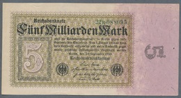P115 Ro112b DEU-132b. 5 Milliard Mark 10.09.1923 AUNC - [ 3] 1918-1933 : República De Weimar