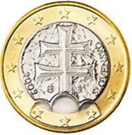 Slovakije 2009       1 Euro   UNC Uit De Rol  UNC Du Rouleaux  !! - Slovaquie