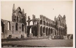 AO95 Whitby Abbey - RPPC - Whitby
