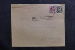 BELGIQUE - Enveloppe De Bruxelles Pour Paris En 1935 Par Avion - L 40149 - Cartas