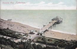 AO95 Victoria Pier, Folkestone - Aerial View, 1906 Postcard, Local Publisher - Folkestone