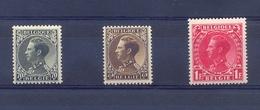 Nrs. 401/403 ** Leopold III 13 Côte - Bélgica