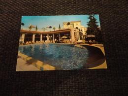 CARTOLINA ABANO TERME -HOTEL TERME DUE TORRI PISCINA TERMALE -VIAGG.ANNI 60 - Padova