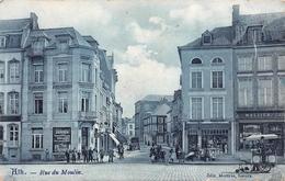 ATH - La Rue Du Moulin - Attelage De Glacier + Magasins - Ath