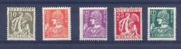 Nrs. 335/340 ** Allegorieën - Unused Stamps