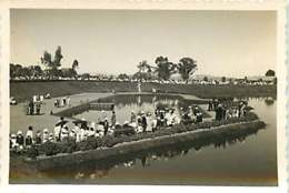 210819A - PHOTO ANNEES 1930 MADAGASCAR TANANARIVE ANTANANARIVO Un Coin Du Lac D'Anosy Le Jour Du 14 Juillet 1931 Fête - Madagascar