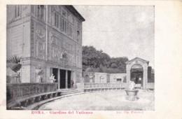 AQ58 Roma, Giardino Del Vaticano - Early Undivided Back - Parks & Gardens