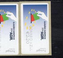 87 Europawahl Correio Azul ** Postfrisch, MNH, Neuf (4) - Automatenmarken (ATM/Frama)
