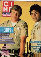 Ciné Télé Revue Fev 87 8706 Chips Tony Danza Belmondo Berry Hogan Harrison Ford Gerard Oury - Cinéma