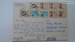 D166810 Brasil Brazil -  Porto Alegre RGS   -Avenida Oswaldo Aranha - Ca 1969 -stamps - Porto Alegre