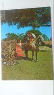 D166811 Brasil Brazil -  Rio Grande Do Sul - Gaucho Boy  - Horse Pferd Cheval  1972 - Porto Alegre