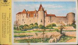 Buvard De Collection > N° 80 Château De Chateauneuf-en-Auxois Près De Semur (côte D'Or) - En TBE - Buvards, Protège-cahiers Illustrés