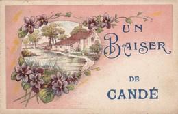 CANDE , Lot De 12 Cartes A VOIR ET ETUDIER ,(((1 Carte Tres Tres Peu Courante))),je Crois ((lot 317)) - France