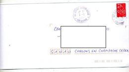 Lettre Cachet Saint Dizier Cdis - Postmark Collection (Covers)
