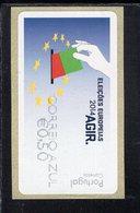 87 Europawahl Correio Azul ** Postfrisch, MNH, Neuf (6) - Automatenmarken (ATM/Frama)