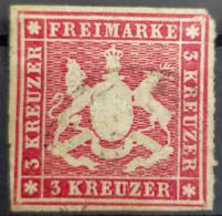WÜRTTEMBERG 1863 - Canceled - Mi 26 - 3k - Wuerttemberg