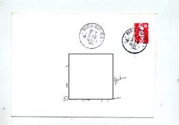 Lettre Cachet  Paris Est C I - Postmark Collection (Covers)
