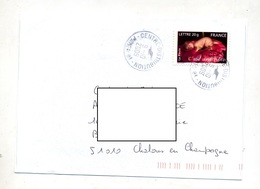 Lettre Cachet  Paris Centre Distribution - Postmark Collection (Covers)