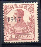 Sello Nº 102  Rio Oro - Rio De Oro