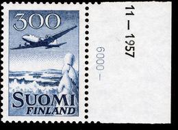 FINLAND 1958 Definitive AIR 300M MI 488**MNH - Nuovi