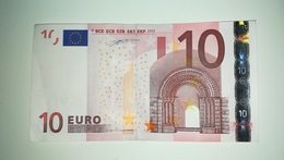 EURO-GERMANY 10 EURO (X) R007 Sign Duisenberg - EURO