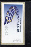 88 Europawahl ** Postfrisch, MNH, Neuf (3) - Automatenmarken (ATM/Frama)