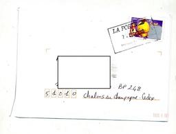 Lettre Cachet  Rectangulaire Paris - Postmark Collection (Covers)