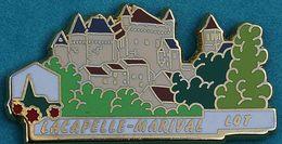 LL   567      LES PLUS BEAUX VILLAGES DE FRANCE  Signé LP CREATION...LACAPELLE  MARIVAL.....LOT - Steden