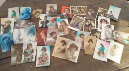 Lot De 33 Cartes Postales. Femme. - Cartes Postales