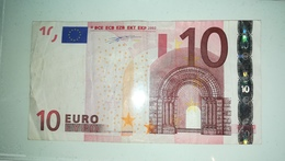 EURO-IRELAND 10 EURO (T) K002 Sign Duisenberg - 10 Euro