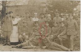 Dackel Teckel Dachshound Chien Deutsche Soldaten RAR !  - Carte Photo Allemande (1914-1918) - War 1914-18