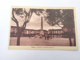 Cartolina Massa Obelisco In Piazza Umberto I Per Viterbo - Italy