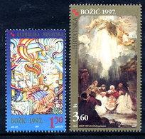 CROATIA 1997 Christmas MNH / **.  Michel 441-42 - Kroatien