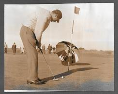 Photo Press Sport GOLF - 1958 VENEZUELAN GOLFERS JACK CORRIE E CARMEN - Sport