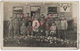 POW Camp Dorchester GB England - Soldatenheim RAR !   - Carte Photo Allemande (1914-1918) - War 1914-18