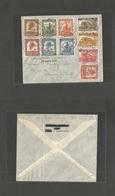 BELGIAN CONGO. 1947 (28 Apr) Elisabethville - Hamon Sur Outhe. Special Flight Cachet + Multiple Fkgs. Fine. - Belgisch-Kongo