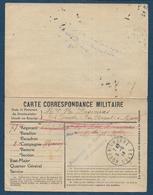 """Cachet """" Prisonnier De Guerre En Allemagne """"  Sur Carte FM - Poststempel (Briefe)"""