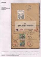 AANGETEKENDE BRIEFOMSLAG LEGERPOSTERIJ 6 OP 1 IX 16 NAAR HULST-TRICOLORE FRANKERING-PATRIOTTISCHE SLUITSTROKEN - Autres Lettres